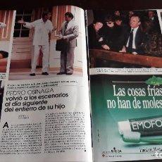 Coleccionismo de Revistas y Periódicos: PEDRO OSINAGA. Lote 122483187