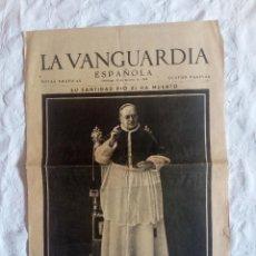 Coleccionismo de Revistas y Periódicos: PERIÓDICO LA.VANGUARDIA GUERRA CIVIL.FALANGE.REPUBLICANO.FRANCO.REQUETE.CHECAS.BARCELONA. Lote 122532503