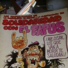 Coleccionismo de Revistas y Periódicos: NÚMERO ESPECIAL SOLIDARIDAD CON EL PAPUS. ATENTADO 20 SEP 1977.. Lote 122588659
