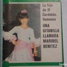 Coleccionismo de Revistas y Periódicos: RECORTE FOTO DE MARIBEL BENITEZ HIJA DEL CORDOBÉS REVISTA SEMANA Nº 1947. Lote 122643603