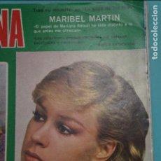 Coleccionismo de Revistas y Periódicos: RECORTE FOTO DE MARIBEL MARTIN REVISTA SEMANA Nº 1922. Lote 122656011