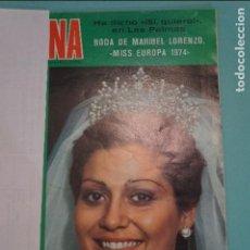 Coleccionismo de Revistas y Periódicos: RECORTE FOTO DE MARIBEL LORENZO MISS EUROPA 1974 REVISTA SEMANA Nº 1872. Lote 122657375
