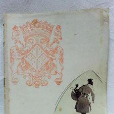 Coleccionismo de Revistas y Periódicos: REVISTA PROGRAMA OFICIAL MERCAT DEL RAM, VICH. AÑO 1956. Lote 122666279
