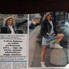 Coleccionismo de Revistas y Periódicos: LETICIA SABATER . Lote 122707747