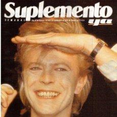 Coleccionismo de Revistas y Periódicos: 1990. DAVID BOWIE. 21 JAPONESAS. ANA OBREGÓN. VER SUMARIO.. Lote 122756411