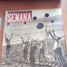 Coleccionismo de Revistas y Periódicos: REVISTA SEMANA N°182. AGOSTO DE 1943.. Lote 122758844