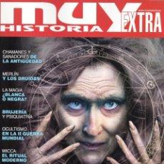 Coleccionismo de Revistas y Periódicos: MUY HISTORIA EXTRA N. 9 - EN PORTADA: BRUJAS Y MAGOS (NUEVA). Lote 179220406