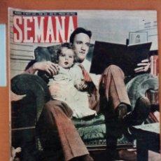 Coleccionismo de Revistas y Periódicos: REVISTA SEMANA N°326. MAYO DE 1946. DE SOLDADO A NIÑERO.. Lote 122774871