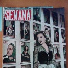 Coleccionismo de Revistas y Periódicos: REVISTA SEMANA N°507. NOVIEMBRE DE 1949. BELLEZAS ESPAÑOLAS.. Lote 122775559