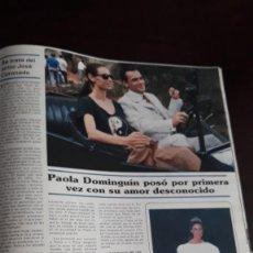 Coleccionismo de Revistas y Periódicos: PAOLA DOMINGUIN. Lote 122824159