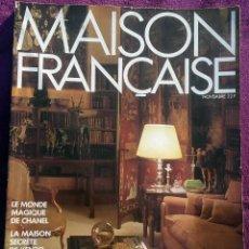 Coleccionismo de Revistas y Periódicos: REVISTA MAISON FRANÇAISE - REVISTA AÑOS 80. Lote 122826827