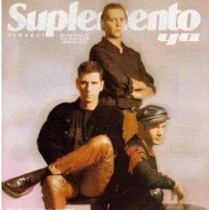 Coleccionismo de Revistas y Periódicos: 1990. LA UNIÓN. ANTONI TÁPIES. LOS LOBOS, MÚSICOS DE FRONTERA.LA MAÑANA QUE ENMUDECIÓ MÓNACO.. Lote 122827611