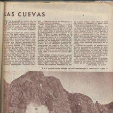 Coleccionismo de Revistas y Periódicos: AÑO 1962 CUEVAS GRANADA DEMOLICION CASA RODRIGO CALDERON GARSA CONVENIO DE MAEZTU LAGUNA ANTELA. Lote 122864343