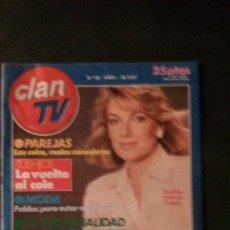 Coleccionismo de Revistas y Periódicos: CLAN TV-UN DOS TRES-EUROPE-SUPERMAN. Lote 122992363