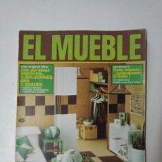 Coleccionismo de Revistas y Periódicos: REVISTA VINTAGE EL MUEBLE N° 160, ABRIL 1975. Lote 123007800