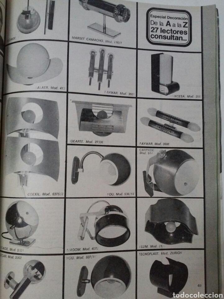 Coleccionismo de Revistas y Periódicos: EL MUEBLE N° 159, marzo 1975 - Foto 2 - 123008427
