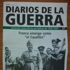 Coleccionismo de Revistas y Periódicos: NÚMERO 7 DEL COLECCIONABLE SEMANAL DIARIOS DE LA GUERRA.. Lote 123046115