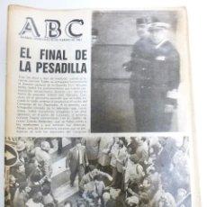 Coleccionismo de Revistas y Periódicos: LOTE DE PERIODICOS ABC FEBRERO DE 1981 ADOLFO SUAREZ CALVO SOTELO TEJERO MILANS DEL BOSCH ARMADA. Lote 123060811