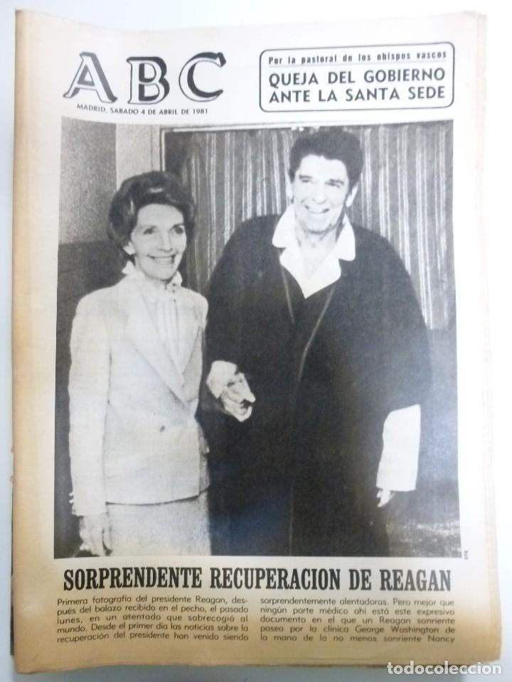 Coleccionismo de Revistas y Periódicos: Lote de periodicos ABC febrero de 1981 Adolfo Suarez Calvo Sotelo Tejero Milans del Bosch Armada - Foto 5 - 123060811