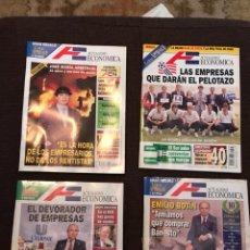 Coleccionismo de Revistas y Periódicos: LOTE DE REVISTAS ECONÓMIA ANTIGUAS. Lote 123171982