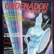 Coleccionismo de Revistas y Periódicos: LOTE DE DOCE REVISTAS ORDENADOR POPULAR - REVISTA INFORMÁTICA - AÑOS 80. Lote 123263303