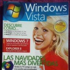 Coleccionismo de Revistas y Periódicos: REVISTA WINDOWS VISTA - REVISTA OFICIAL - REVISTA INFORMÁTICA Nº 20, AÑO 2009. Lote 123272911