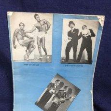 Coleccionismo de Revistas y Periódicos: NATACIÓN REVISTA ANTIGUA AQUA PARADE DE 1950 CALIFORNIANA DEL AGUA AQUAQUETTES NADADORES NADADORAS. Lote 123296531