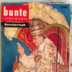 Coleccionismo de Revistas y Periódicos: BUNTE ILLUSTRIERTE EDICIÓN ESPECIAL 1958. Lote 123421355