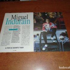 Coleccionismo de Revistas y Periódicos: RETAL PRENSA 1995: ENTREVISTA A MIGUEL INDURAIN. Lote 123555475