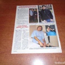 Coleccionismo de Revistas y Periódicos: RETAL PRENSA 1996: LAUREN POSTIGO. SANCHO GRACIA.. Lote 123756759