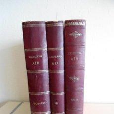 Coleccionismo de Revistas y Periódicos: LE PLEIN AIR - REVUE DE TOUS LES SPORTS - 1909 AL 1912 - Nº 1 AL 157 - REVISTA DE DEPORTES -RARISIMO. Lote 124018387