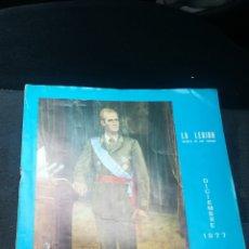 Coleccionismo de Revistas y Periódicos: LA LEGION REVISTA DE LOS TERCIOS DICIEMBRE DE 1977. Lote 124018544
