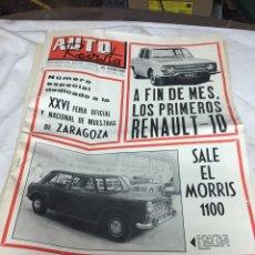 Coleccionismo de Revistas y Periódicos: AUTO REVISTA AÑO 1966. Lote 124086611