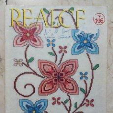 Coleccionismo de Revistas y Periódicos: REVISTA REALCE Nº 146 - PUNTO DE CRUZ - EDICIONES REALCE 1976. Lote 124137975