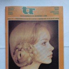 Coleccionismo de Revistas y Periódicos: REVISTA TELERADIO GUIA Nº17/ACTRICES DE ESPAÑA.. Lote 124152955