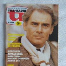 Coleccionismo de Revistas y Periódicos: REVISTA TELERADIO/AGATA LYS.. Lote 124166935