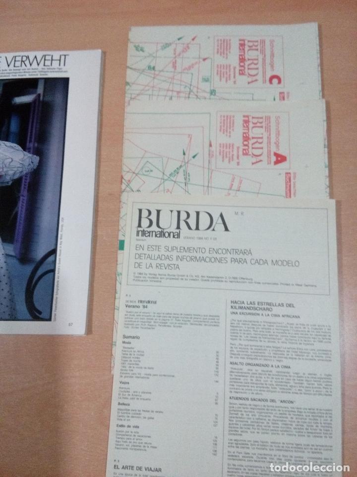 lote 13 revistas burda internacional completas - Comprar Otras ...
