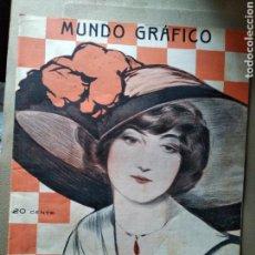 Coleccionismo de Revistas y Periódicos: REVISTA MUNDO GRÁFICO. Lote 124264634