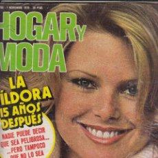 Coleccionismo de Revistas y Periódicos: REVISTA EL HOGAR Y LA MODA Nº 1765 APÑO 1975. LA PILDORA 15 AÑOS DESPUES. PUNTO HIT. . Lote 124395411