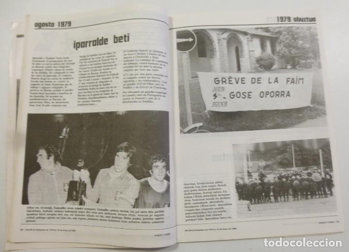 Coleccionismo de Revistas y Periódicos: Revista Vasca Punto y Hora de Euskal Herria Num 157 de Enero 1980 transición Política Resumen 1979 - Foto 2 - 124443295