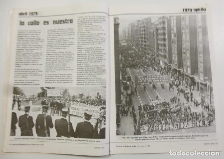 Coleccionismo de Revistas y Periódicos: Revista Vasca Punto y Hora de Euskal Herria Num 157 de Enero 1980 transición Política Resumen 1979 - Foto 3 - 124443295