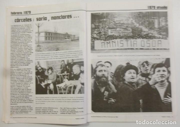 Coleccionismo de Revistas y Periódicos: Revista Vasca Punto y Hora de Euskal Herria Num 157 de Enero 1980 transición Política Resumen 1979 - Foto 4 - 124443295