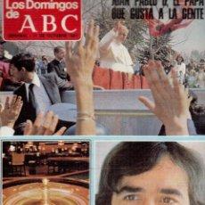 Coleccionismo de Revistas y Periódicos: 1981. SERRAT AHORA QUE TIENE 37 AÑOS. MIGUEL BOSÉ. ORNELLA MUTI Y ADRIANO CELENTANO. VER SUMARIO .... Lote 124553959