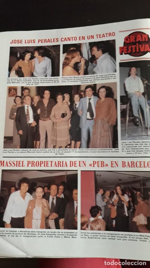 MASSIEL JOSE LUIS PERALES PALOMA SAN BASILIO (Coleccionismo - Revistas y Periódicos Modernos (a partir de 1.940) - Otros)