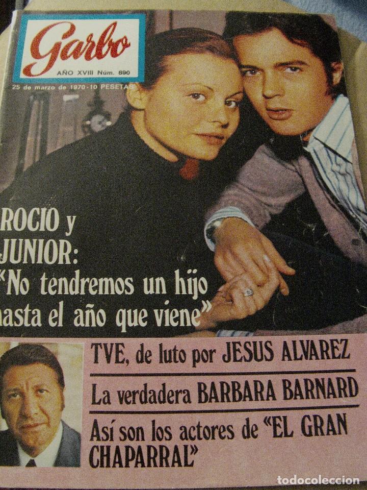 REVISTA GARBO 1970 ROCÍO DÚRCAL JUNIOR (Coleccionismo - Revistas y Periódicos Modernos (a partir de 1.940) - Otros)