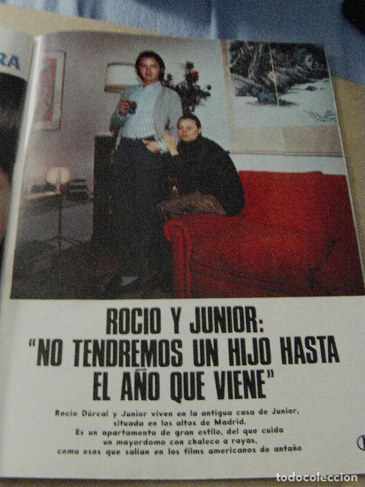 Coleccionismo de Revistas y Periódicos: REVISTA GARBO 1970 ROCÍO DÚRCAL JUNIOR - Foto 2 - 124598275
