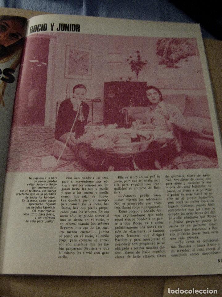 Coleccionismo de Revistas y Periódicos: REVISTA GARBO 1970 ROCÍO DÚRCAL JUNIOR - Foto 4 - 124598275