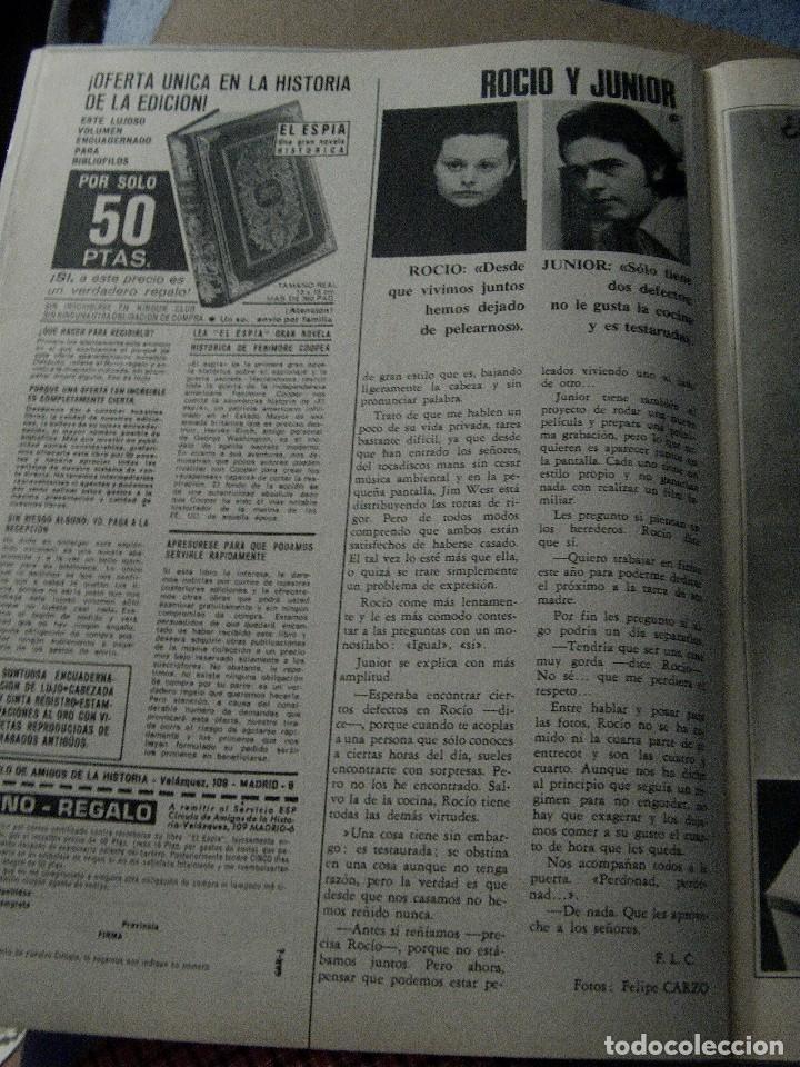 Coleccionismo de Revistas y Periódicos: REVISTA GARBO 1970 ROCÍO DÚRCAL JUNIOR - Foto 5 - 124598275