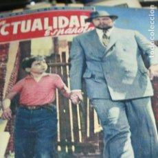 Coleccionismo de Revistas y Periódicos: PETER USTINOV PABLITO CALVO VALENCIA ARGELIA SARA MONTIEL LOLA FLORES 1957. Lote 124620223