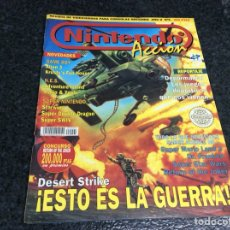 Coleccionismo de Revistas y Periódicos: NINTENDO ACCION Nº 5 DESERT STRIKE, REVISTA VIDEOJUEGOS. Lote 137100762